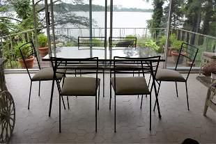 Mid Century Modern 7 Piece Porch Set
