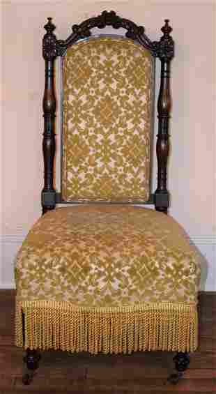 Victorian Rosewood Ladies Parlor Chair