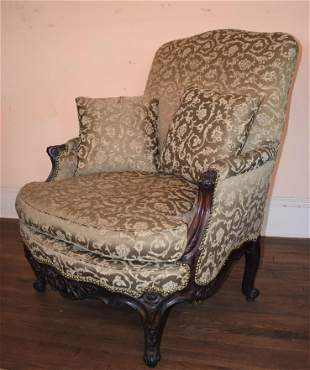 Gilded Age French Louis XVI Style Armchair