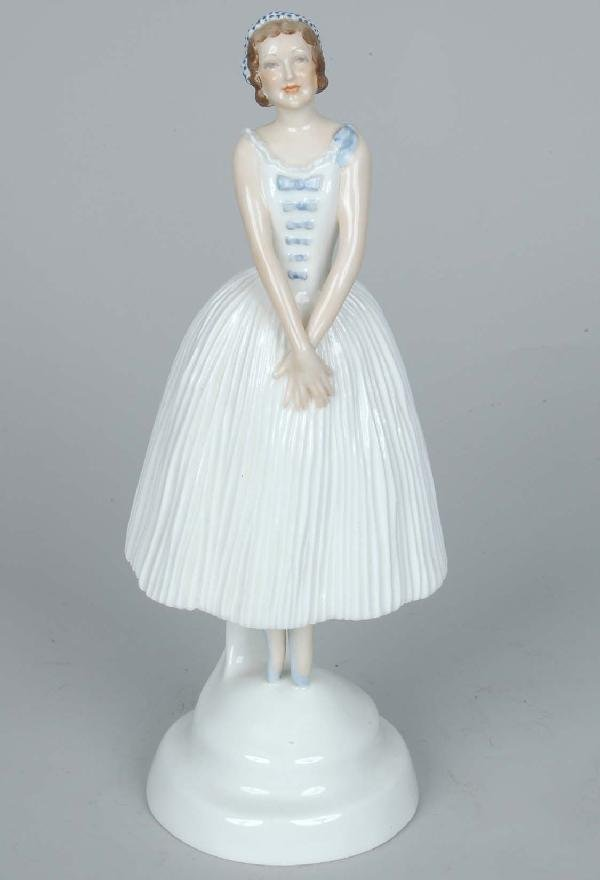 1: Royal Worcester Ballerina
