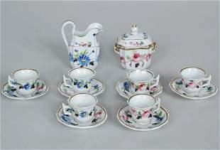19th C. Porcelain Dolls Tea Service