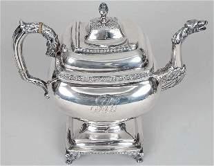 Baltimore Classical Coin Silver Coffeepot, 37 T.O.