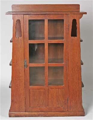 Limberts Arts & Crafts Quartered Oak Bookcase