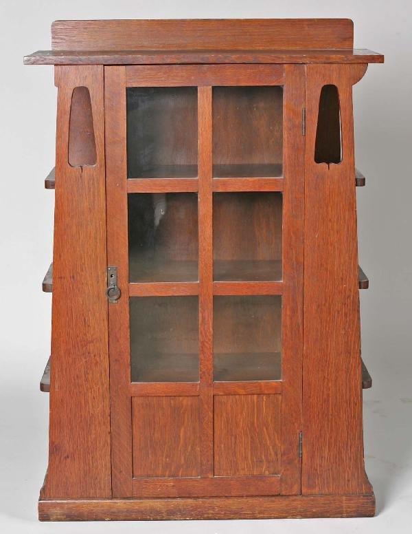10: Limberts  Arts & Crafts Quartered Oak Bookcase
