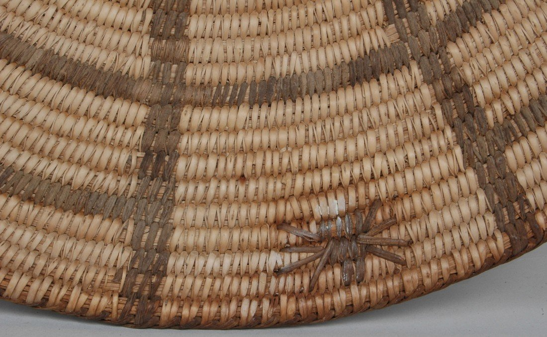14. LOT OF 11 ANTIQUE WOVEN NATIVE AMERICAN  BASKETS - 5