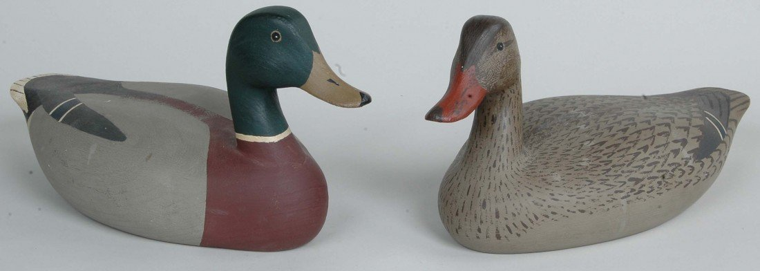 18:J. MILTON WATSON CHESAPEAKE CITY, MD 1972 DECOYS