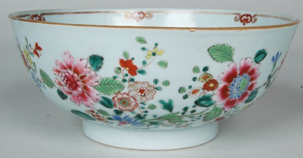 21: 18TH C. CHINESE EXPORT BOWL