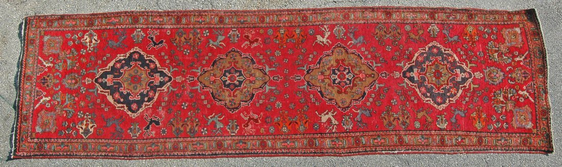 "3' 10"" X 13' 8"" LILLIHAN CARPET"