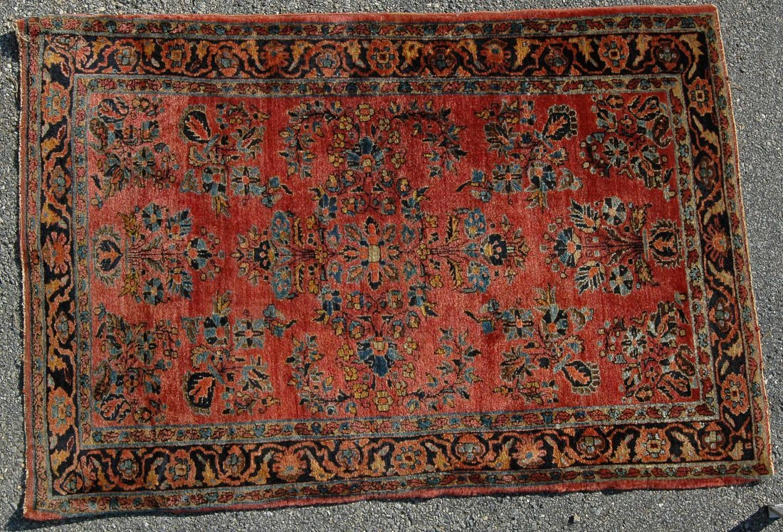 "3' 5"" X  5"" SAROUK CARPET"