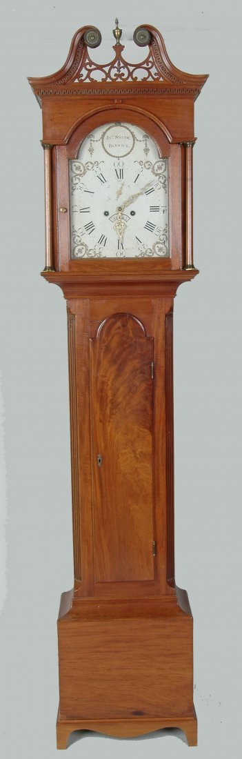 CHOICE 18TH C. ENGLISH CHIPPENDALE TALL CASE CLOCK