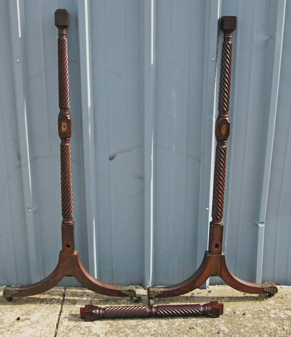 FINE ENGLISH REGENCY CHEVAL MIRROR