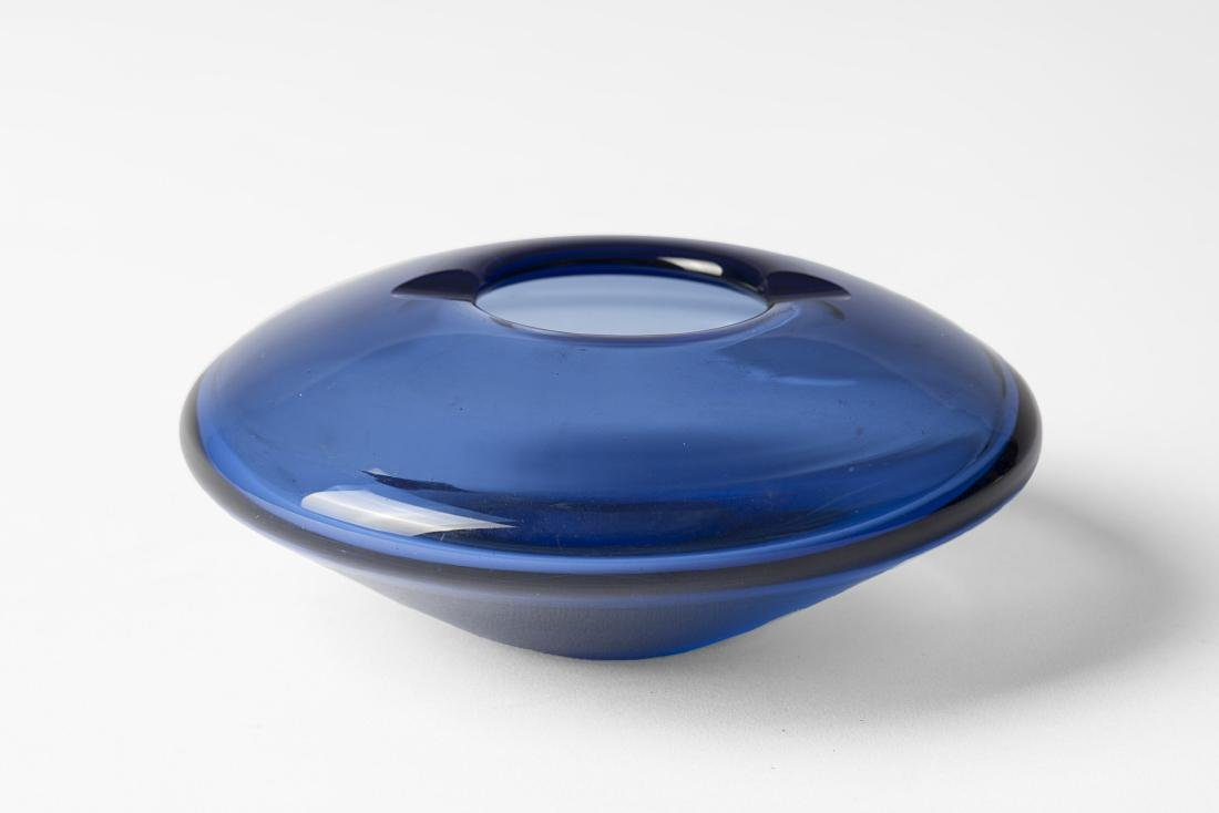 Per Lutken - An ashtray. Glass. Made by Holmegaard,