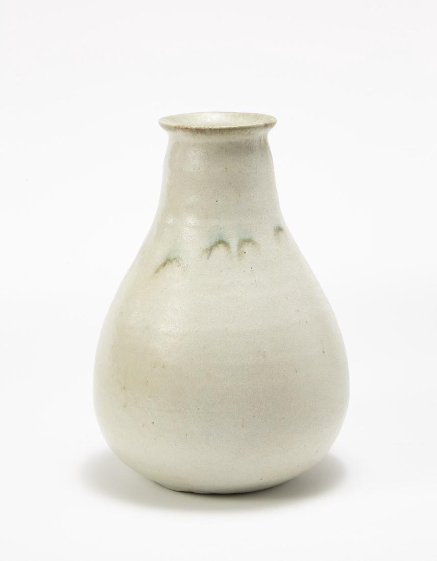 Guido Gambone - Glazed vase. 1950s. Signed under the