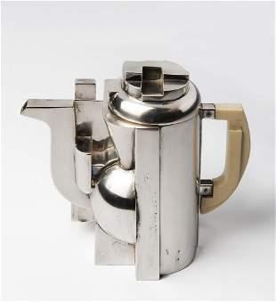 "Richard Meier - A silver tea pot from the ""Tea and"