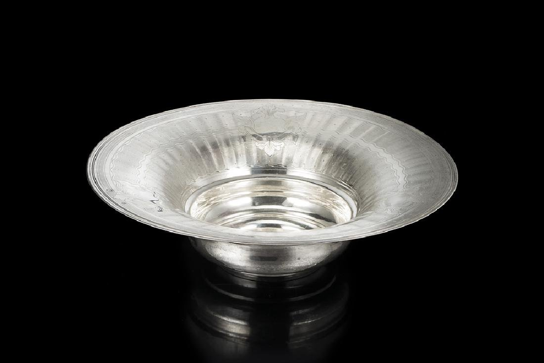 A silver centerpiece. Turkey, beginning 20th century (d