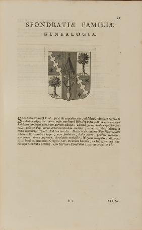 IMHOF, Jacob Wilhelm (1651-1728). Genealogiae viginti