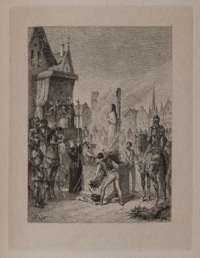 MICHELET, Jules (1798-1874). Jeanne D'Arc. Parigi: