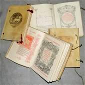 Lotto composto dalle seguenti opere di Gabriele