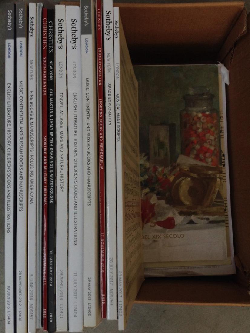 Lotto composto da 20 cataloghi di libri antichi