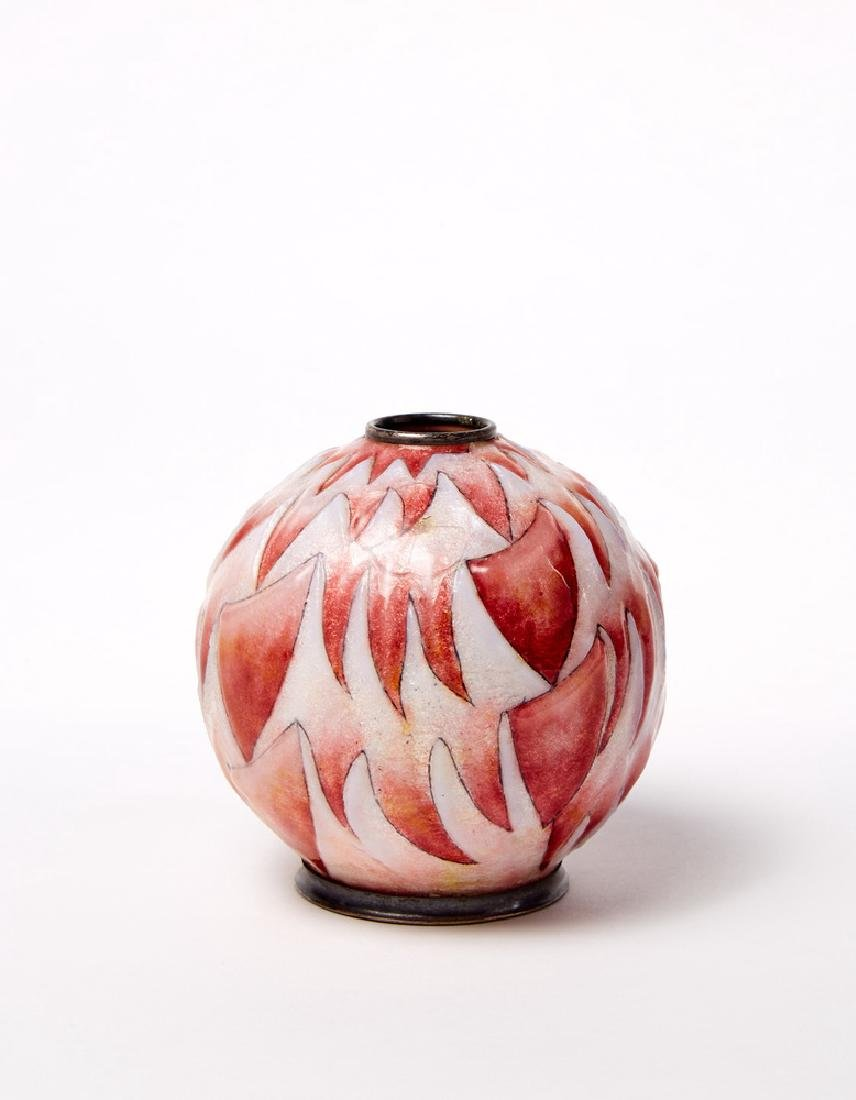 Camille Fauré (1874 - 1956) Piccolo vaso globulare in