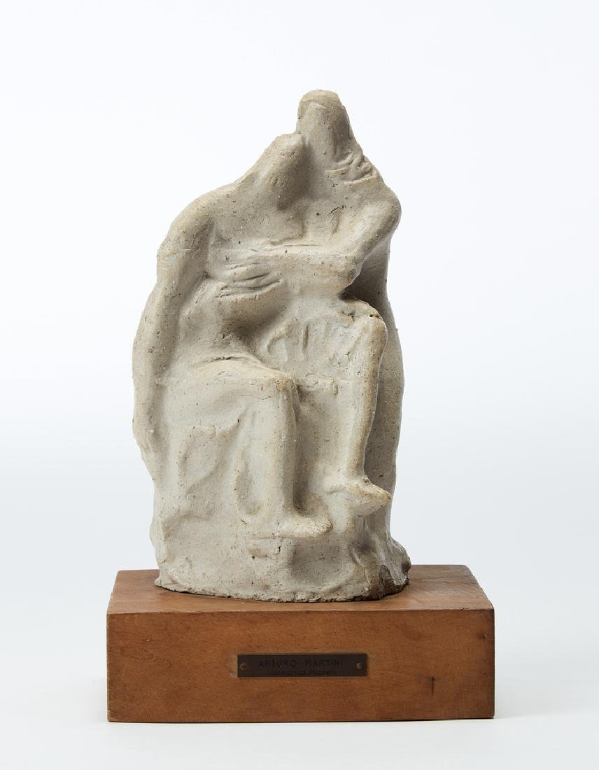 """Arturo Martini (Treviso 1889 - Milano 1947) """"Pietà"""""""