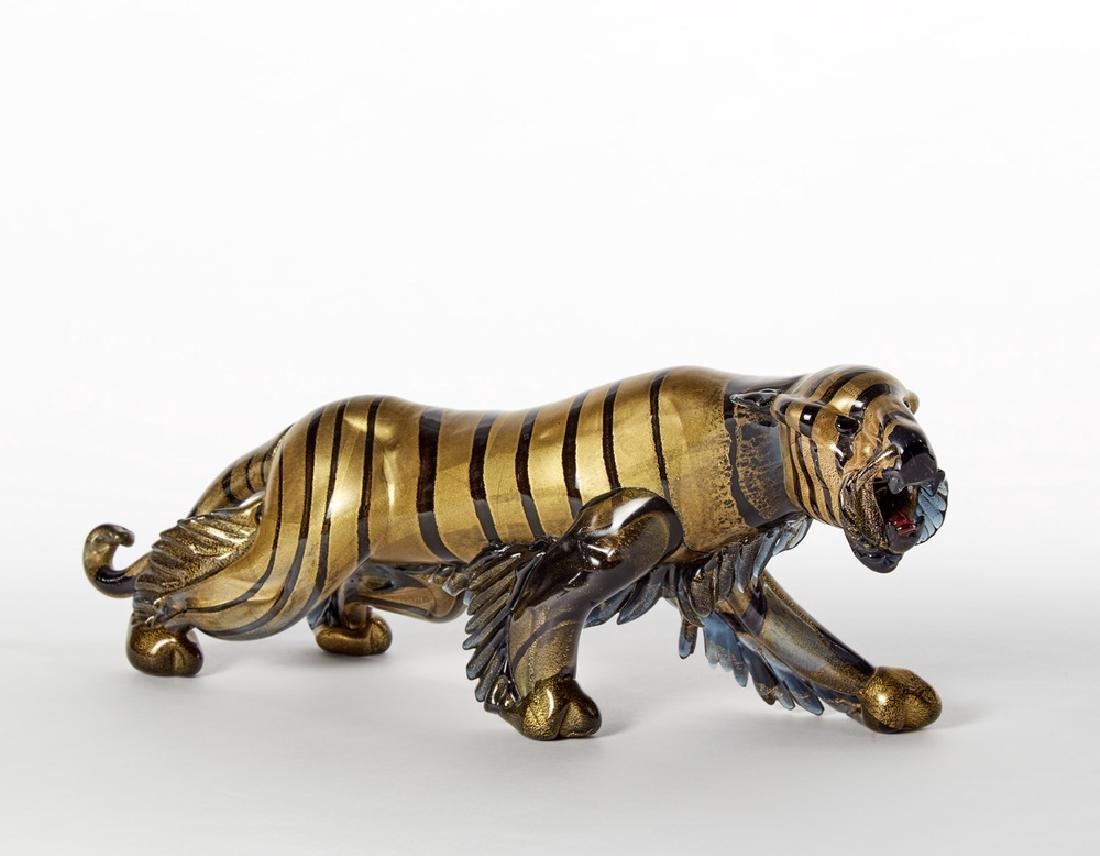 """Alfredo Barbini (Murano 1912 - Murano 2007) """"Tigre"""""""
