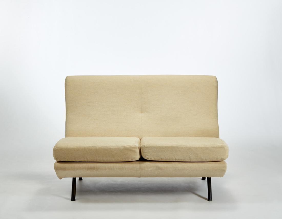 Marco Zanuso (Milano 1916 - Milano 2001) A two seat