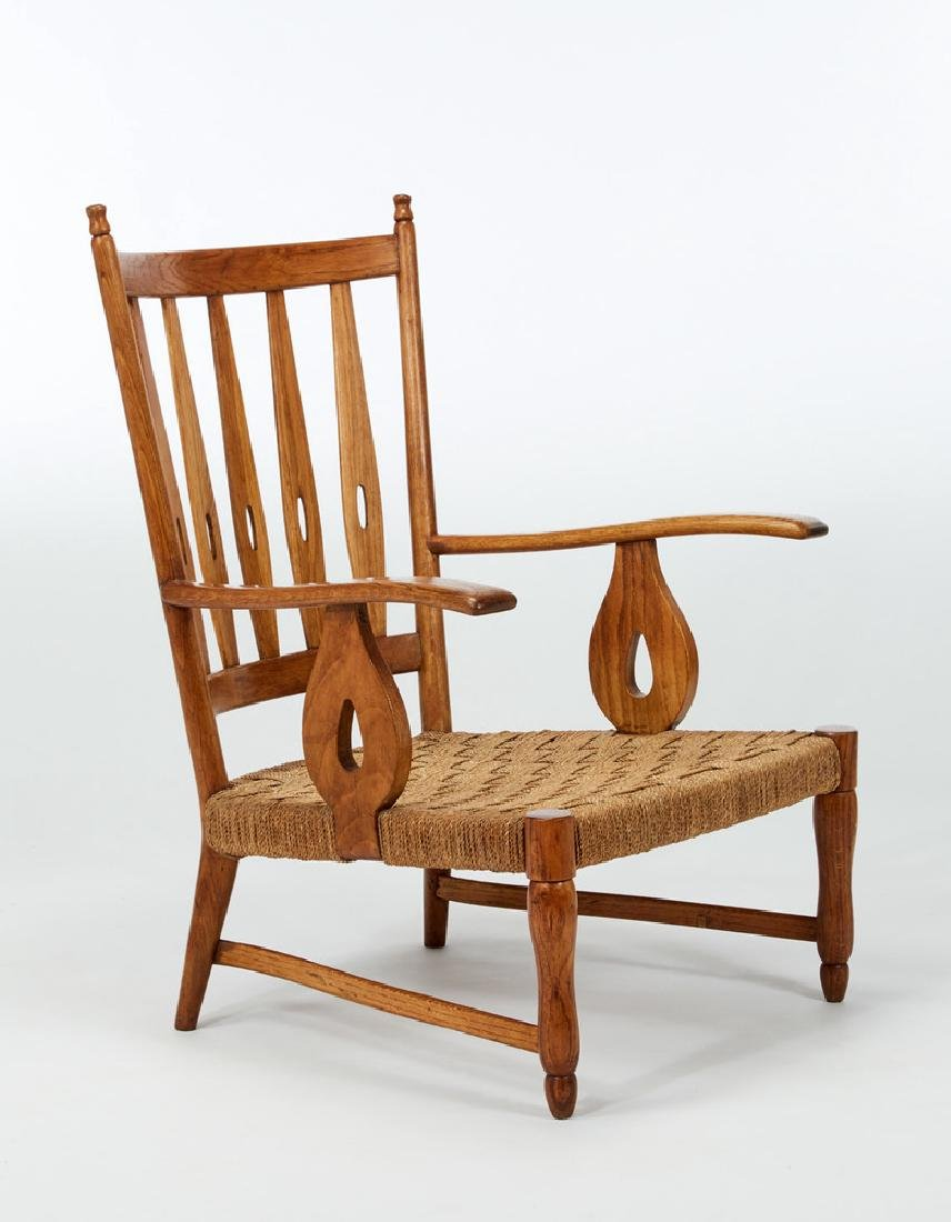 Paolo Buffa (Milano 1903 - Milano 1970) Oak-wood