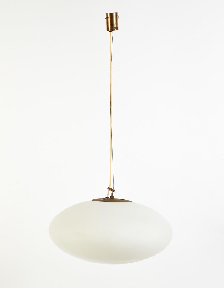 """Stilnovo  Hanging lamp model """"1187"""". Milano 1950s."""