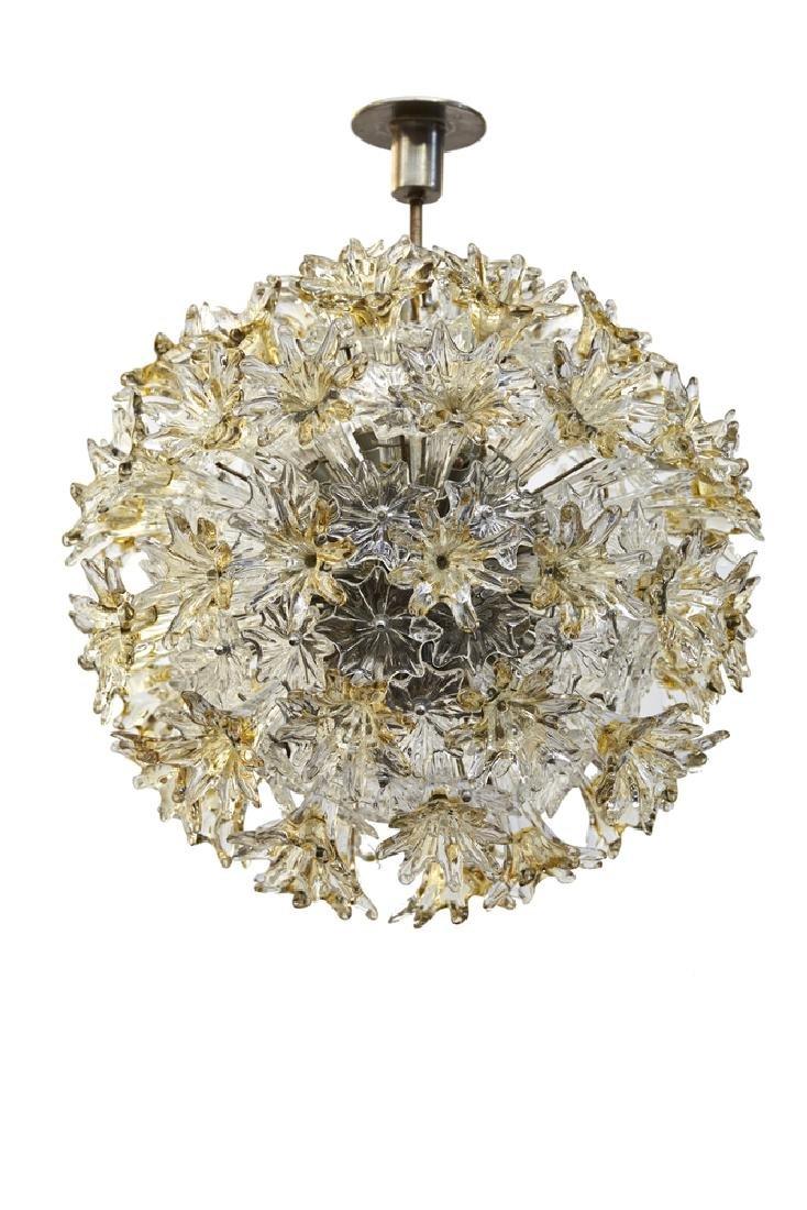 """Toni Zuccheri (Venezia 1937 - 2008) """"Esprit"""" lamp."""