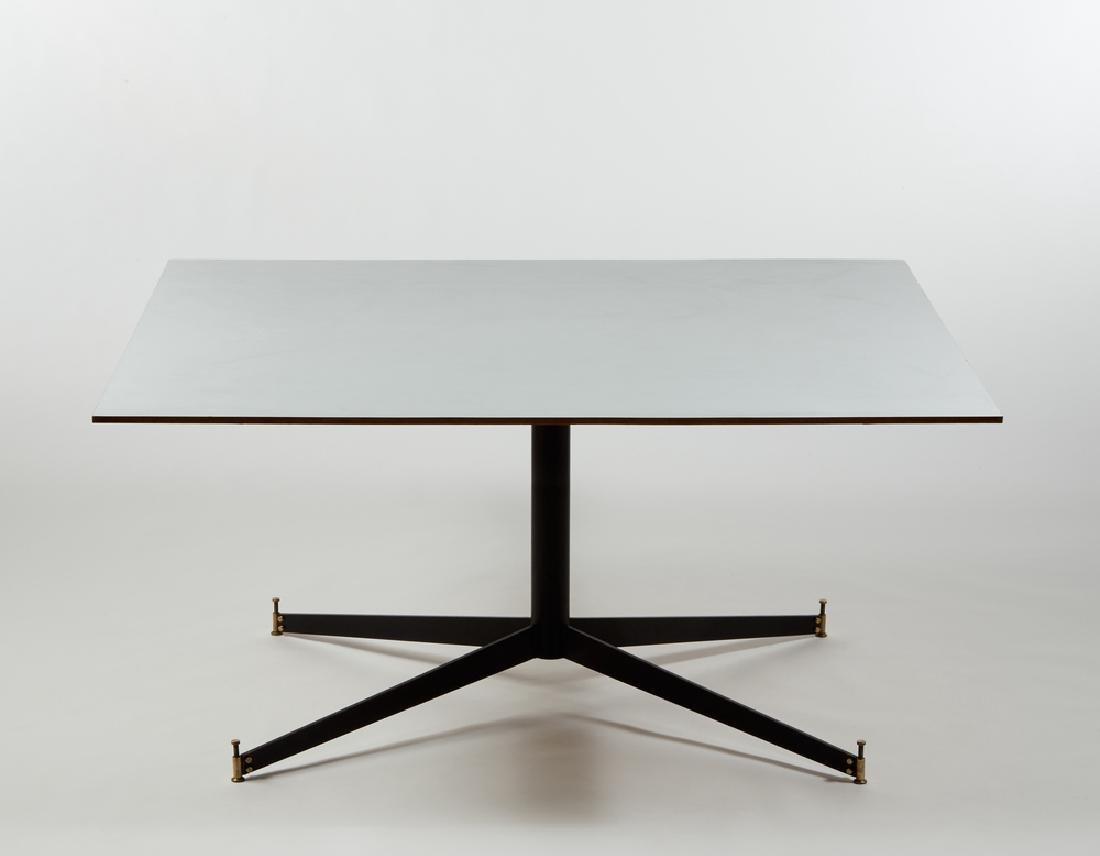 Sergio Mazza (Milano 1931) Table with grey formaica top