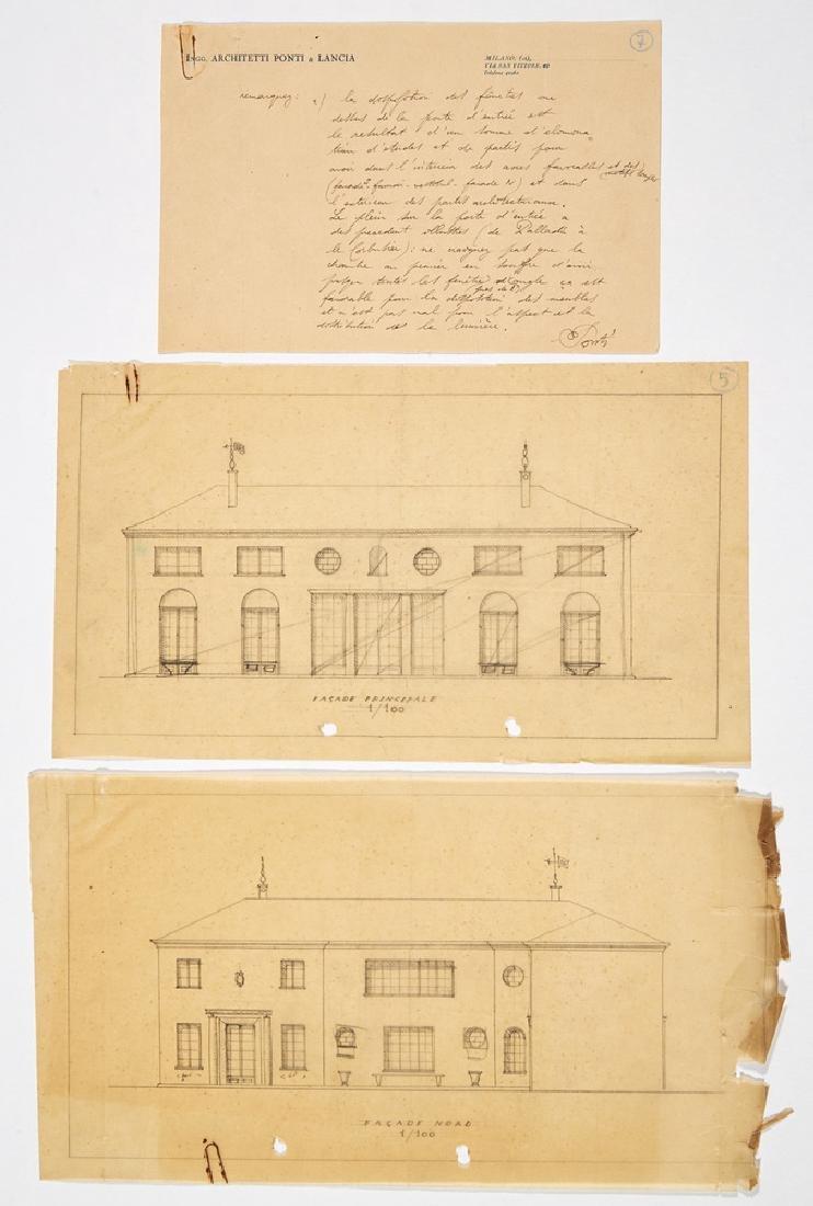 Gio Ponti (Milano 1891 - Milano 1979) Lot comprising