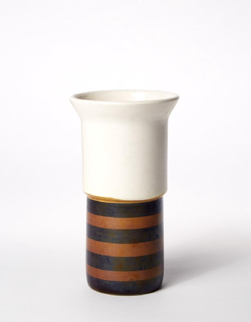 Ettore Sottsass (Innsbruck 1917 - Milano 2007) Vase for