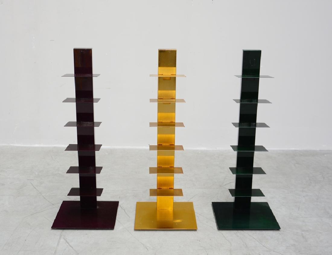 Bruno Rainaldi  Lotto composto da tre librerie modello