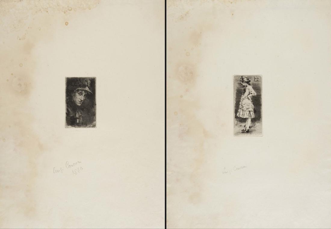 """Luigi Conconi (Milano 1852 - Milano 1917)""""Ada"""" e"""