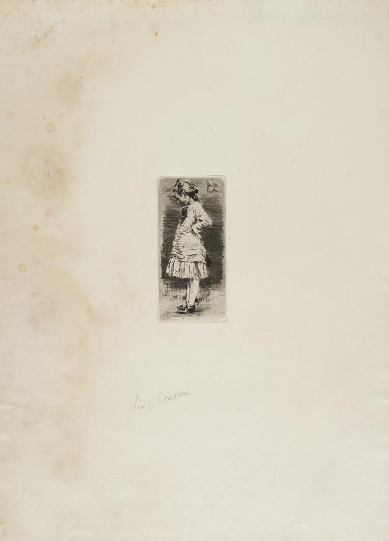 """Luigi Conconi (Milano 1852 - Milano 1917)""""Ada"""" e - 2"""
