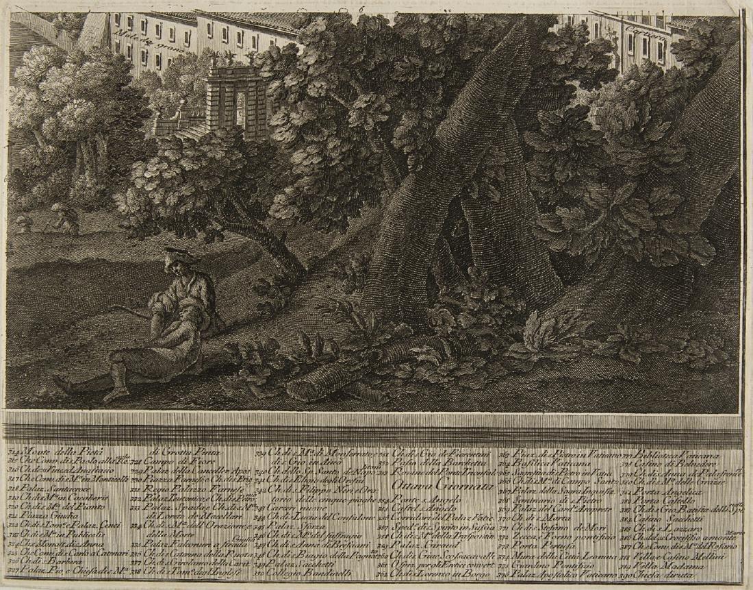 """Giuseppe Vasi (1710 - 1782)""""Prospetto dell'Alma città - 8"""