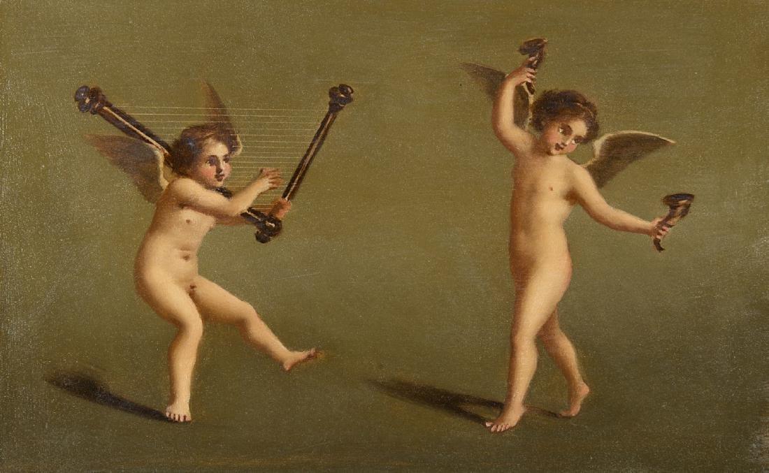 """Scuola del secolo XIX """"Figure classiche"""" gruppo di"""