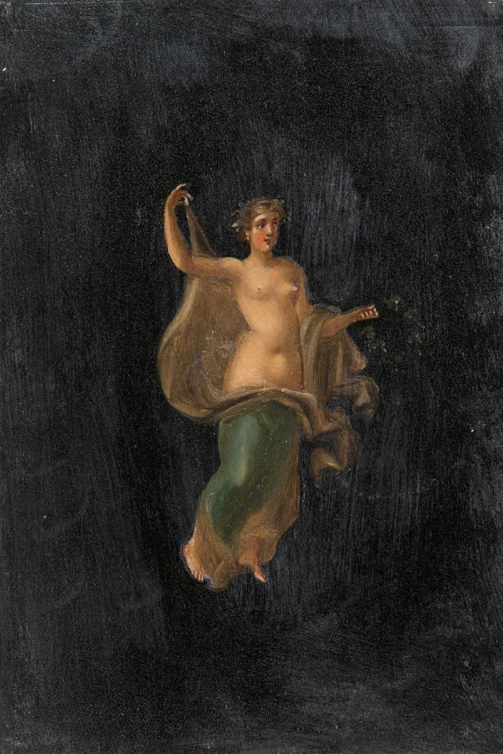 """Scuola del secolo XIX """"Figure classiche"""" gruppo di - 2"""
