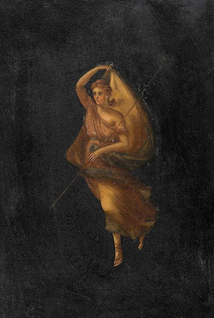 """Scuola del secolo XIX """"Figure classiche"""" gruppo di - 4"""