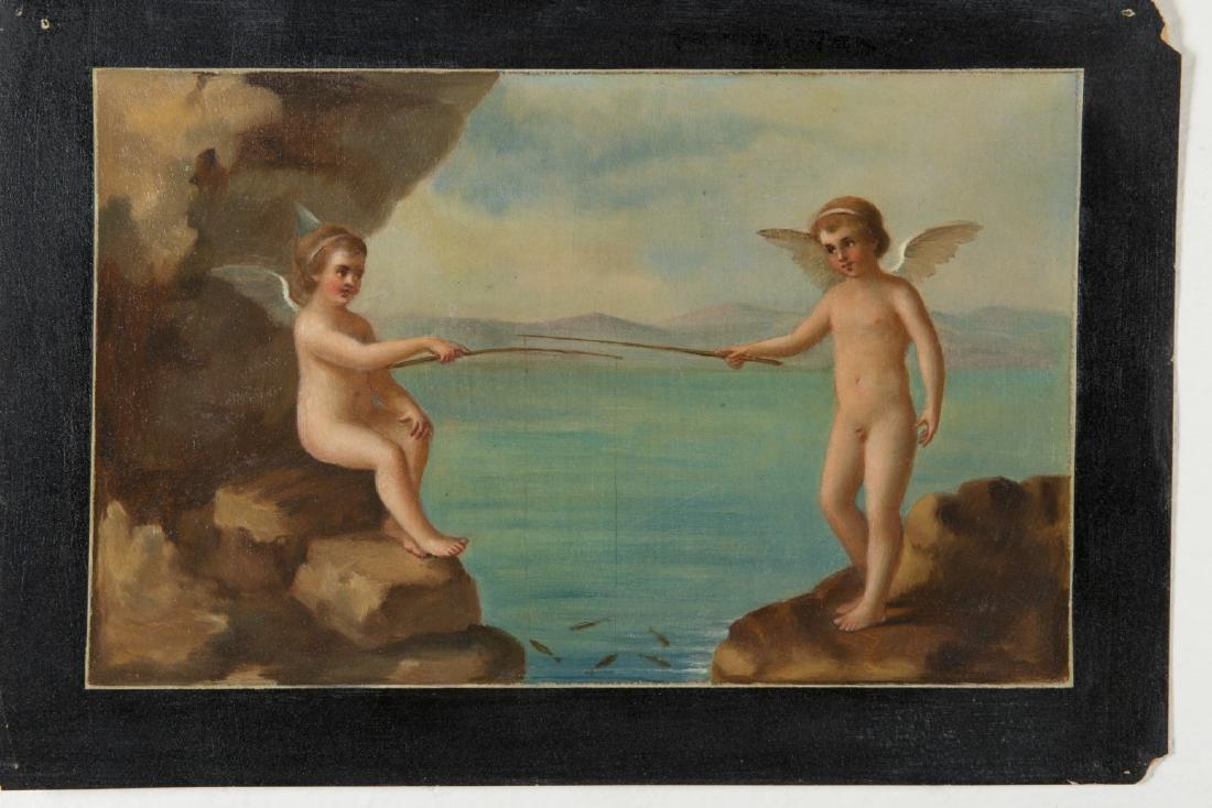 """Scuola del secolo XIX """"Figure classiche"""" gruppo di - 5"""
