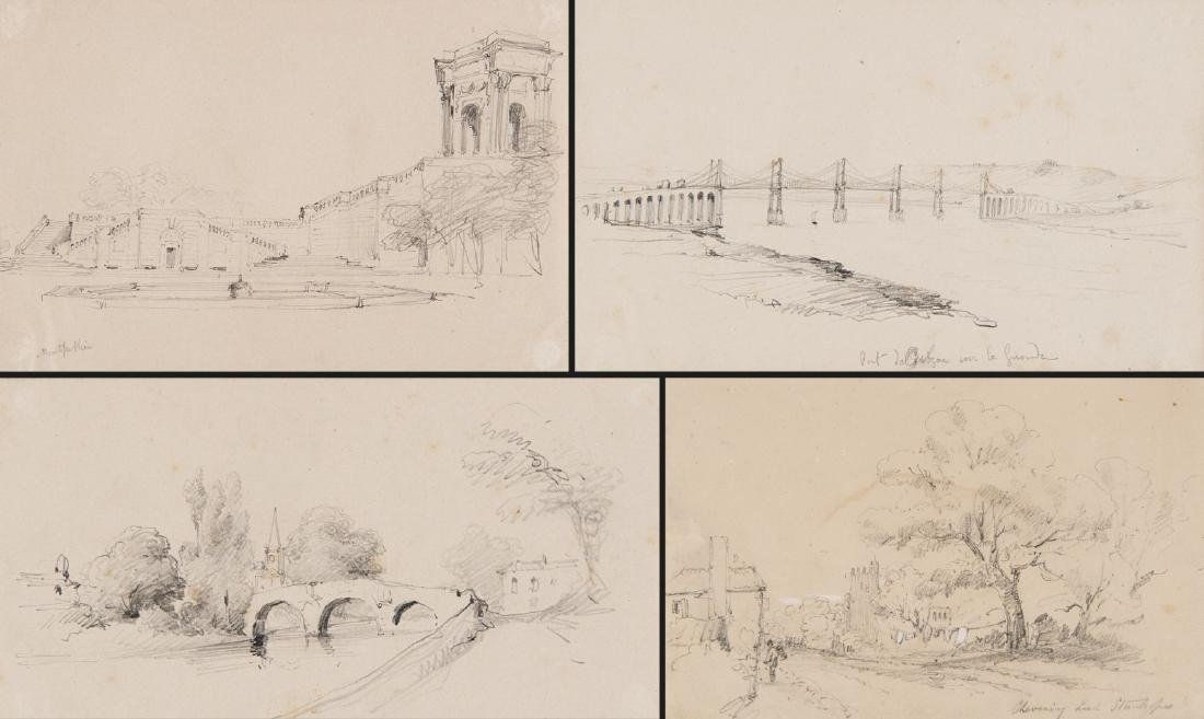 Album contenente numerosi disegni a matita raffiguranti