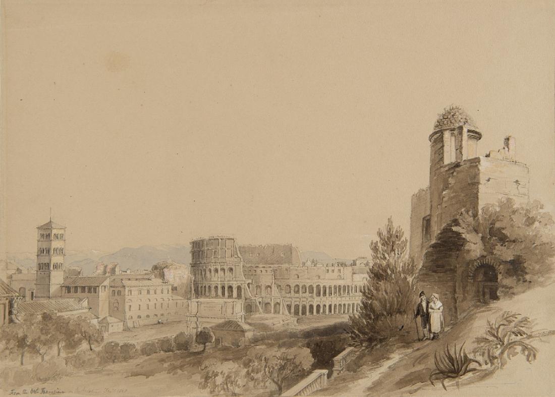 "Charles Robert Cockerell (Londra 1788 - 1863)""Veduta di"