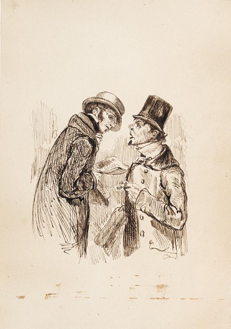Paul Gavarni (Parigi 1804 - Auteuil-Neuilly-Passy