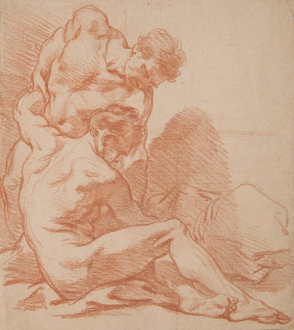 "Francois Boucher (1703 - 1770)(attr.) ""Due nudi"