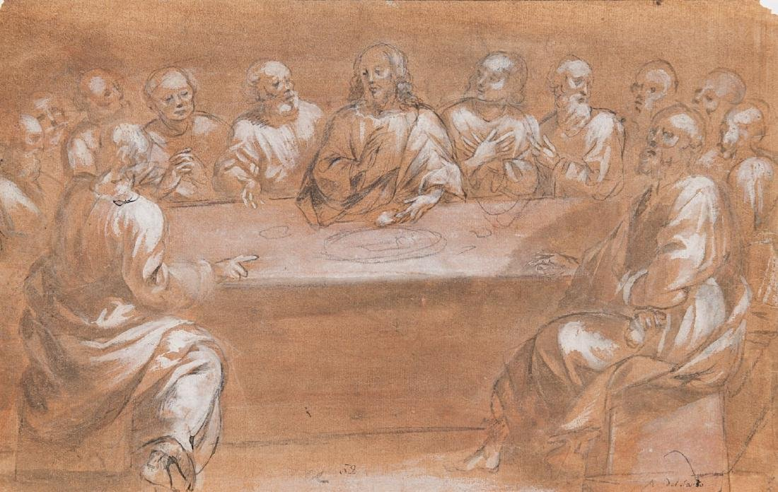 Belisario Corenzio (Acaia 1558 - Napoli 1640)(attr.)