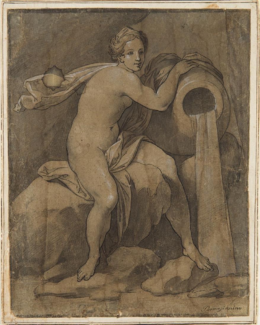 """Artista degli inizi del secolo XVII """"Allegoria"""