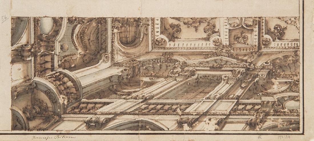 "Francesco Galli Bibiena (Bologna 1659)(attr.) ""Studio"