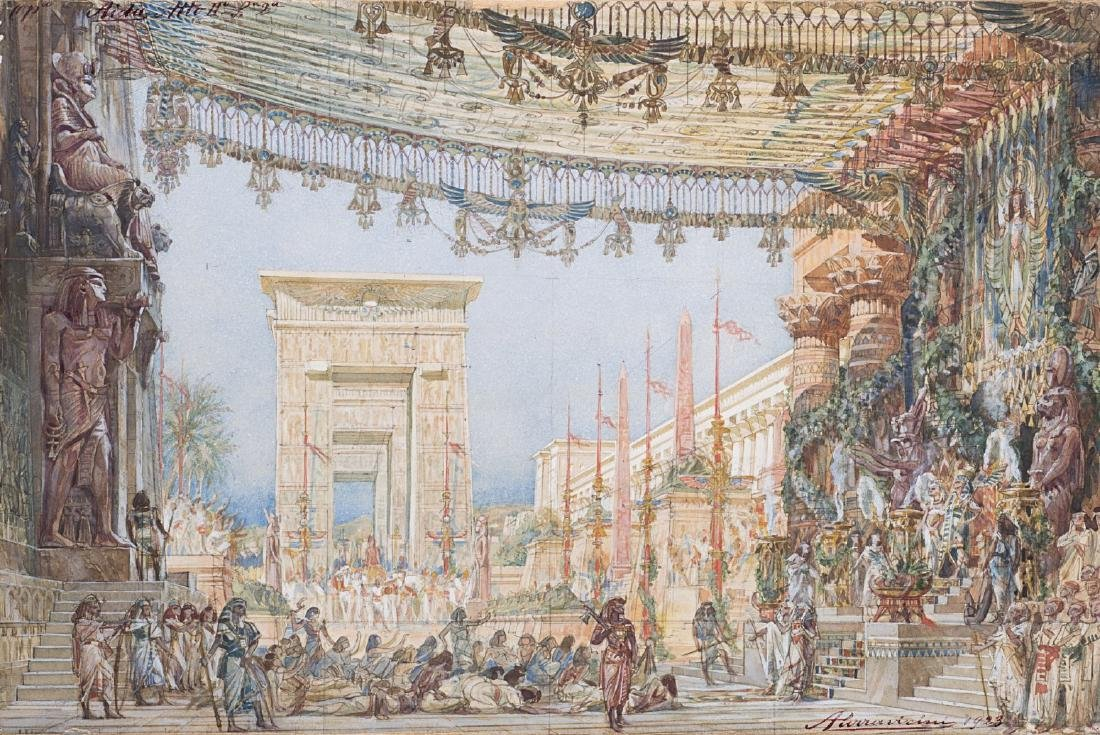 "Angelo Parravicini (Milano 1868 - 1925)""Grande parata"