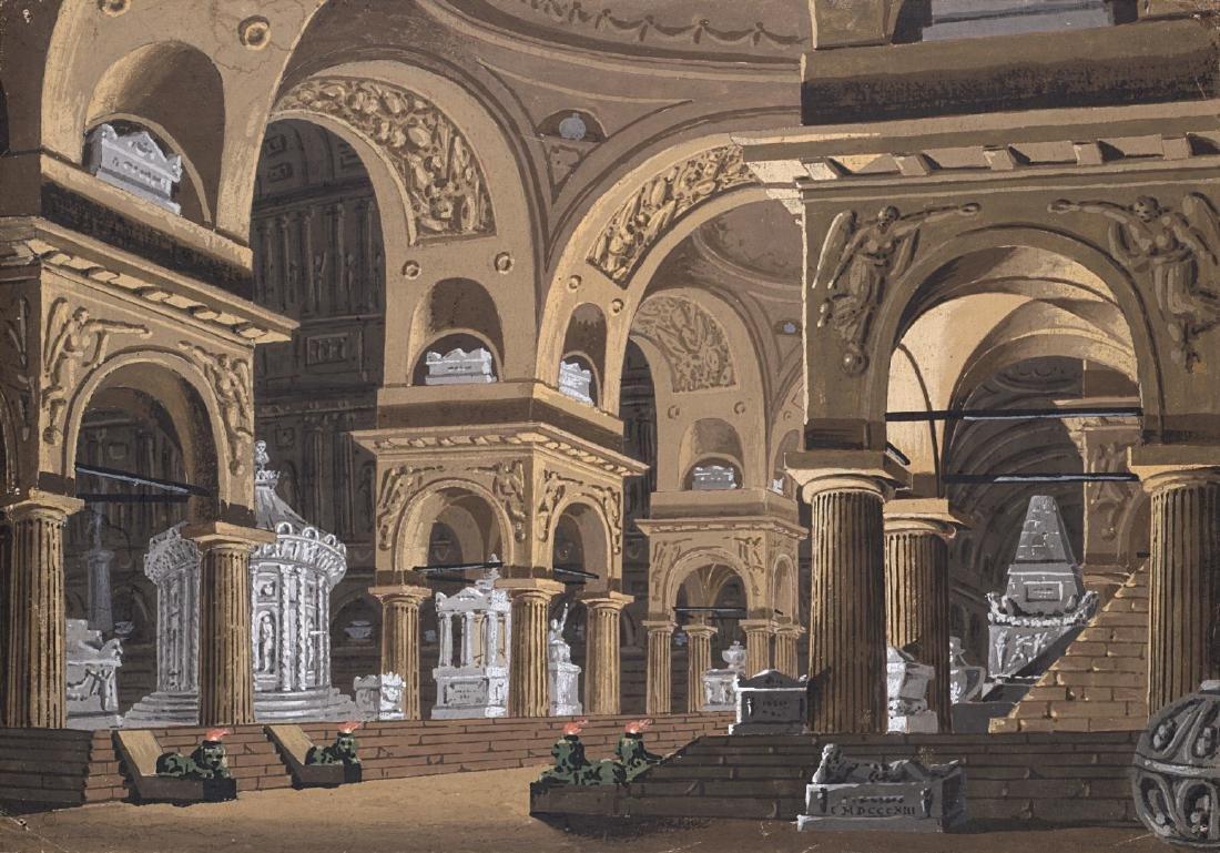Alessandro Sanquirico (Milano 1777 - 1849)(attr)